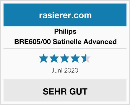 Philips BRE605/00 Satinelle Advanced Test
