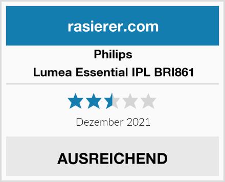 Philips Lumea Essential IPL BRI861 Test