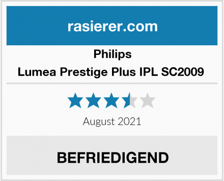 Philips Lumea Prestige Plus IPL SC2009  Test