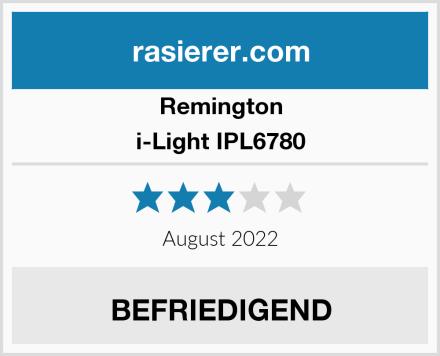 Remington i-Light IPL6780 Test
