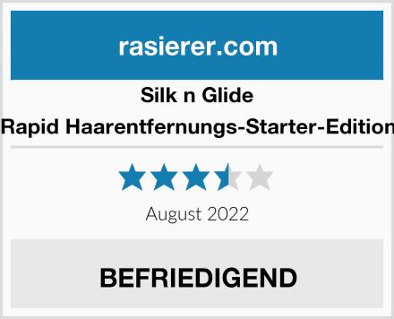 Silk n Glide Rapid Haarentfernungs-Starter-Edition Test