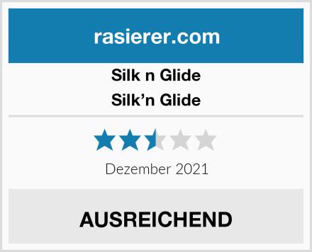 Silk n Glide Silk'n Glide Test