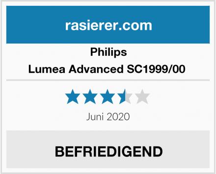 Philips Lumea Advanced SC1999/00  Test