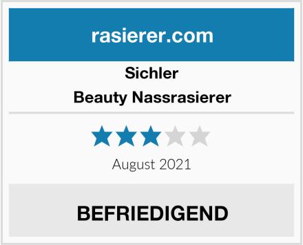 Sichler Beauty Nassrasierer Test