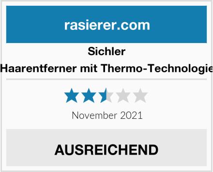 Sichler Haarentferner mit Thermo-Technologie Test