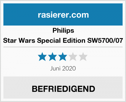 Philips Star Wars Special Edition SW5700/07 Test