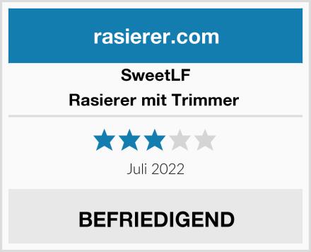 SweetLF Rasierer mit Trimmer  Test