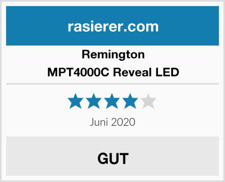 Remington MPT4000C Reveal LED Test