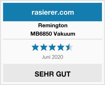 Remington MB6850 Vakuum Test