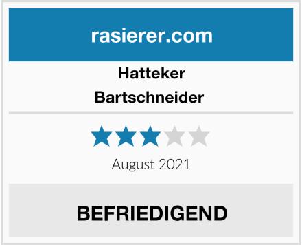 Hatteker Bartschneider  Test