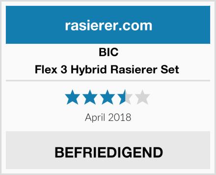 BIC Flex 3 Hybrid Rasierer Set  Test