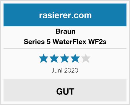 Braun Series 5 WaterFlex WF2s Test