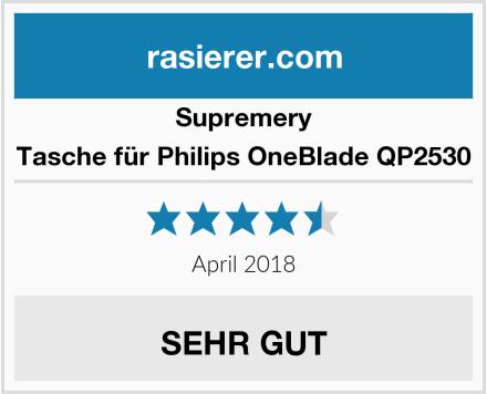 Supremery Tasche für Philips OneBlade QP2530 Test