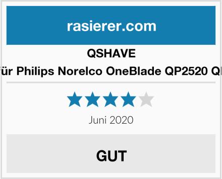 QSHAVE Case für Philips Norelco OneBlade QP2520 QP2570  Test