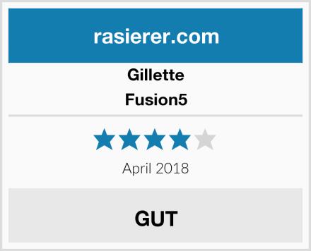 Gillette Fusion5 Test