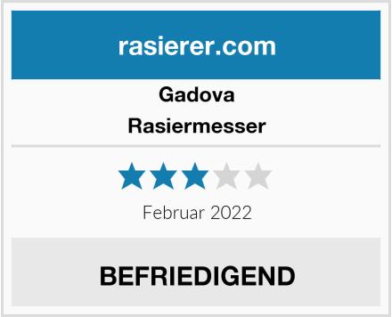 Gadova Rasiermesser Test