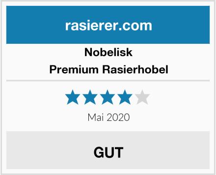 Nobelisk Premium Rasierhobel Test