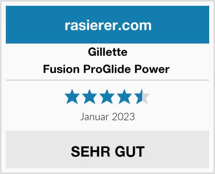 Gillette Fusion ProGlide Power  Test