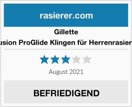 Gillette Fusion ProGlide Klingen für Herrenrasierer Test