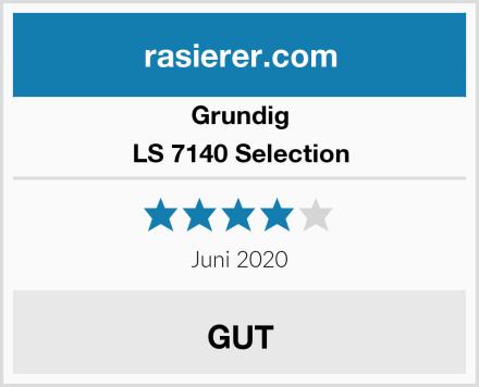 Grundig LS 7140 Selection Test