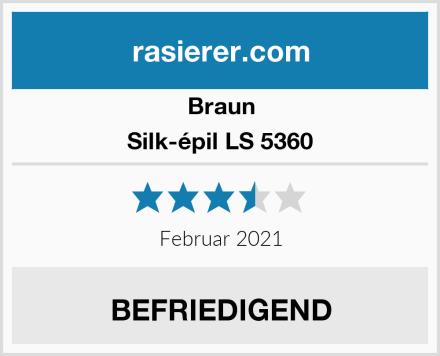 Braun Silk-épil LS 5360 Test
