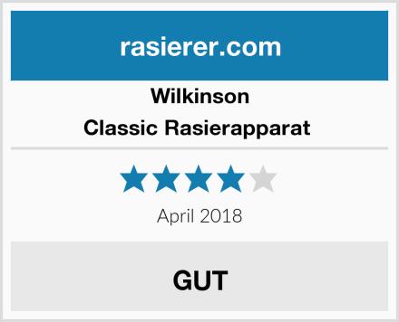 Wilkinson Classic Rasierapparat  Test