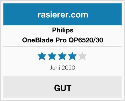 Philips OneBlade Pro QP6520/30 Test