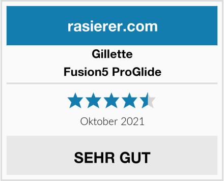 Gillette Fusion5 ProGlide Test