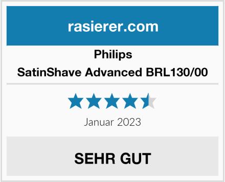 Philips SatinShave Advanced BRL130/00  Test