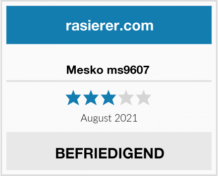 Mesko ms9607  Test