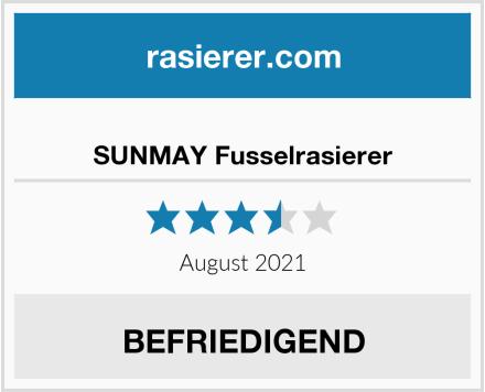 SUNMAY Fusselrasierer Test