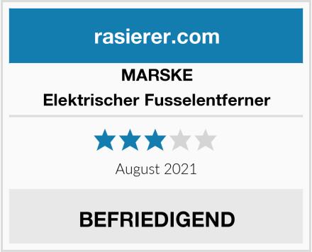 MARSKE Elektrischer Fusselentferner Test