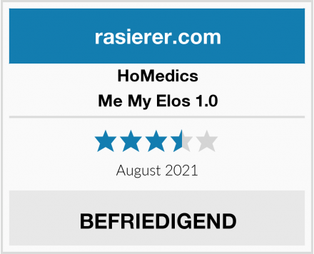 HoMedics Me My Elos 1.0 Test