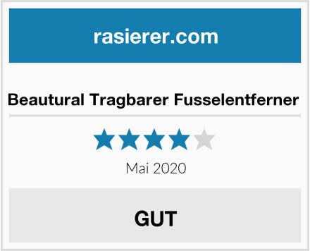 No Name Beautural Tragbarer Fusselentferner  Test