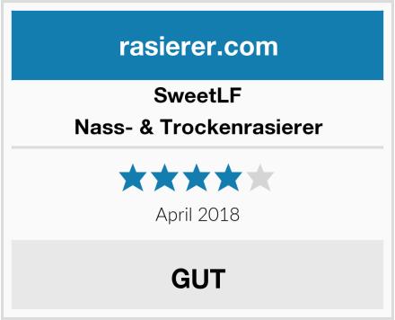 SweetLF Nass- & Trockenrasierer Test