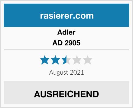 Adler AD 2905 Test