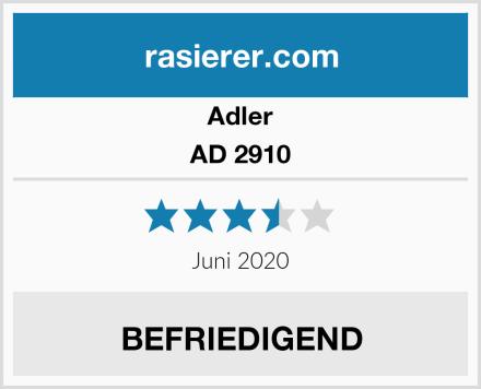 Adler AD 2910 Test