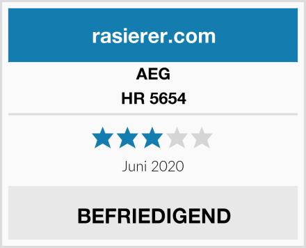 AEG HR 5654 Test