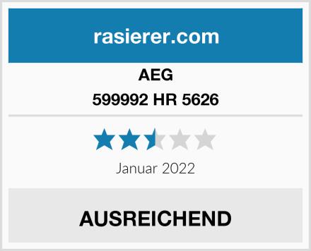 AEG 599992 HR 5626 Test