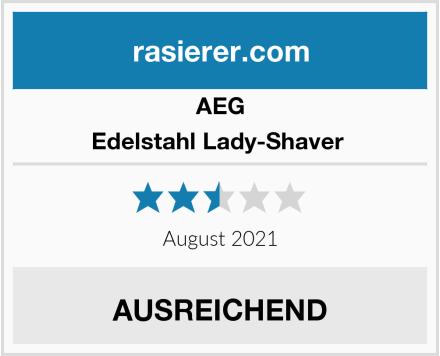 AEG Edelstahl Lady-Shaver  Test