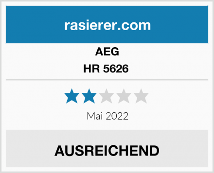 AEG HR 5626  Test