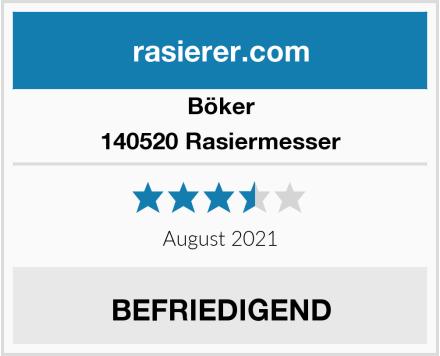 Böker 140520 Rasiermesser Test