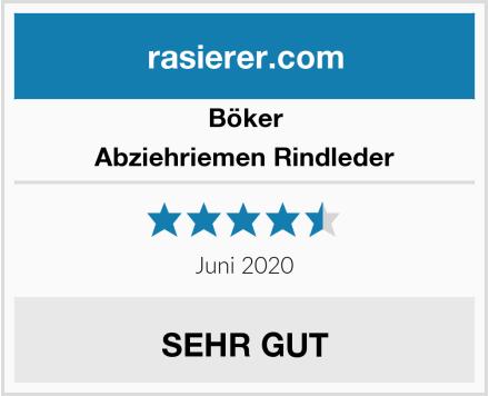Böker Abziehriemen Rindleder Test