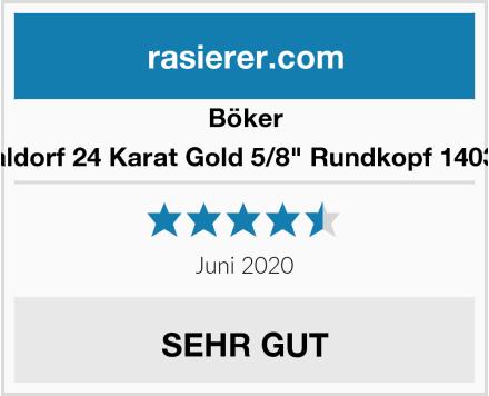 Böker Waldorf 24 Karat Gold 5/8