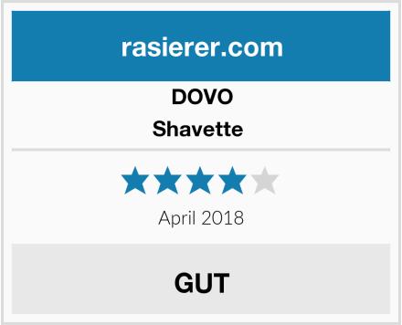 DOVO Shavette  Test