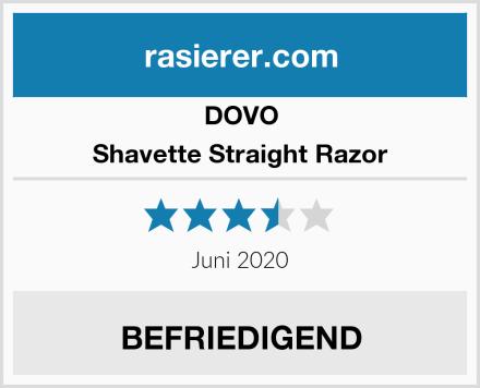 DOVO Shavette Straight Razor Test