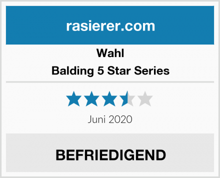 Wahl Balding 5 Star Series Test