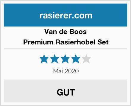 Van de Boos Premium Rasierhobel Set Test