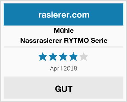 MÜHLE Nassrasierer RYTMO Serie Test