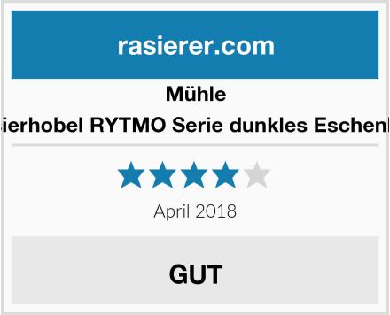 MÜHLE Rasierhobel RYTMO Serie dunkles Eschenholz Test